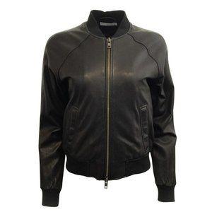 Vince Black Bomber Jacket